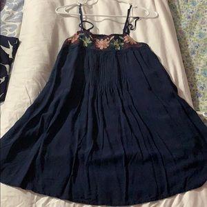 Long tank or short dress